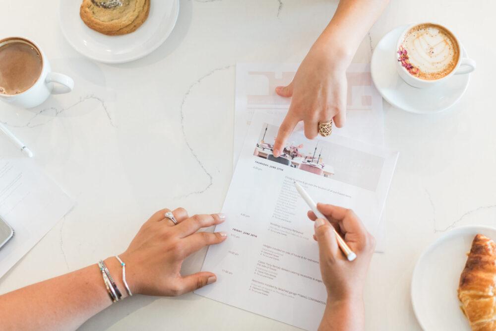 Wild Heart Weddings Hochzeitsplanung Schweiz Timeline Ablauf Vorbereitungsgespräch